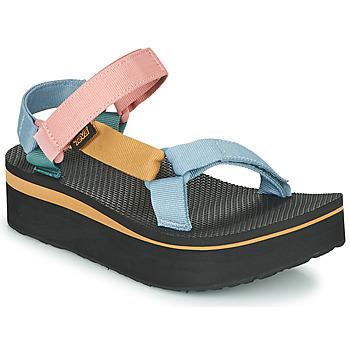 Schuhe Damen Sandalen / Sandaletten Teva FLATFORM UNIVERSAL Multicolor