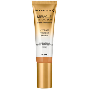 Beauty Damen Make-up & Foundation  Max Factor Miracle Touch Second Skin Found.spf20 9-tan 30 ml