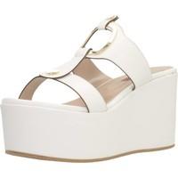 Schuhe Damen Pantoffel Albano 4235 Weiß