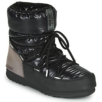 Schuhe Damen Schneestiefel Moon Boot MOON BOOT LOW ASPEN WP Schwarz