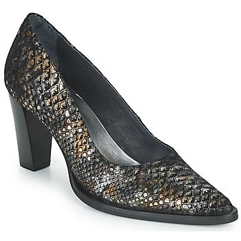 Schuhe Damen Pumps Myma KOLA Schwarz / Gold