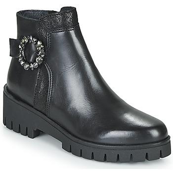 Schuhe Damen Boots Myma KAOLI Schwarz