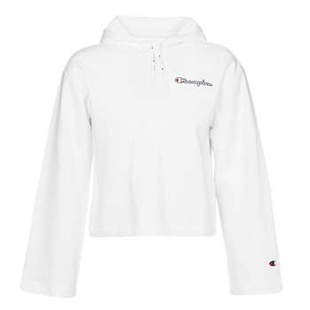 Kleidung Damen Sweatshirts Champion HEAVY COMBED COTTON FLEECE Weiss