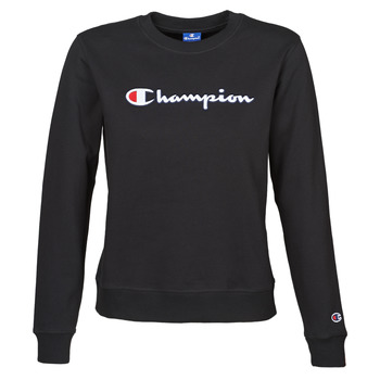 Kleidung Damen Sweatshirts Champion HEAVY COMBED COTTON FLEECE Schwarz