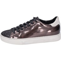 Schuhe Damen Sneaker Low Crime London sneakers kunstleder bronze