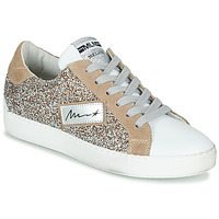 Schuhe Damen Sneaker Low Meline IN5051 Beige / Gold