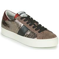 Schuhe Damen Sneaker Low Meline  Bronze / Rot