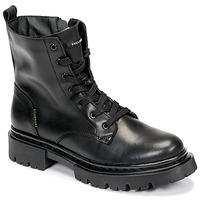 Schuhe Damen Boots Bullboxer 610504E6L_BKC Schwarz
