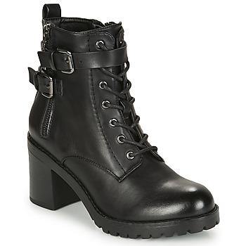 Schuhe Damen Low Boots MTNG 58674-C50055 Schwarz
