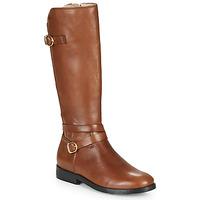 Schuhe Mädchen Klassische Stiefel Acebo's 9863-CUERO-T Braun