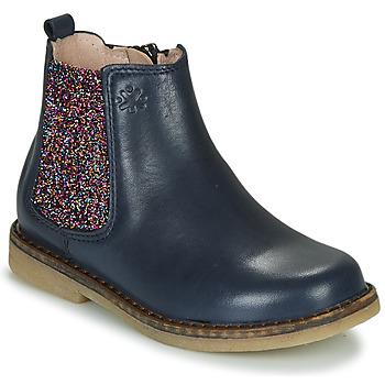 Schuhe Mädchen Boots Acebo's 5274-MARINO-J Marine