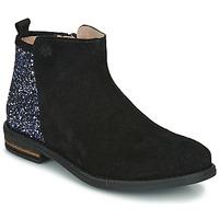 Schuhe Mädchen Boots Acebo's 8035-NEGRO-T Schwarz