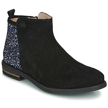 Schuhe Mädchen Boots Acebo's 8035-NEGRO-J Schwarz