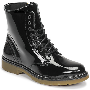 Schuhe Mädchen Boots Bullboxer AOL501E6LGBKPT Schwarz