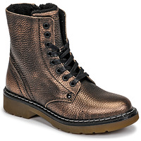 Schuhe Mädchen Boots Bullboxer AOL501E6LGCHAM Bronze