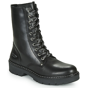 Schuhe Mädchen Boots Bullboxer AON523E6L-BKGY Schwarz