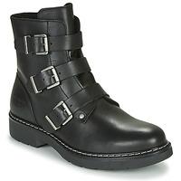 Schuhe Mädchen Boots Bullboxer  Schwarz