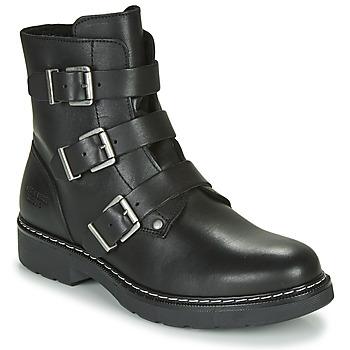 Schuhe Mädchen Boots Bullboxer AOL520E6L-BLCK Schwarz