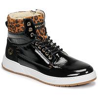 Schuhe Mädchen Sneaker High Bullboxer AOF503E6L-BLCK Schwarz