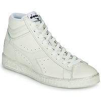 Schuhe Sneaker High Diadora GAME L HIGH WAXED Weiss
