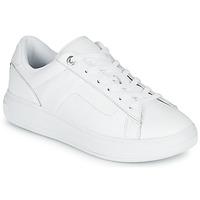 Schuhe Damen Sneaker Low Tommy Hilfiger LEATHER TOMMY HILFIGER CUPSOLE Weiss