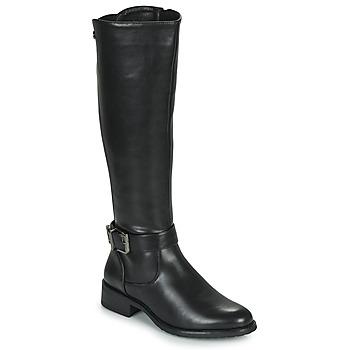 Schuhe Damen Klassische Stiefel Les Petites Bombes ARINA Schwarz