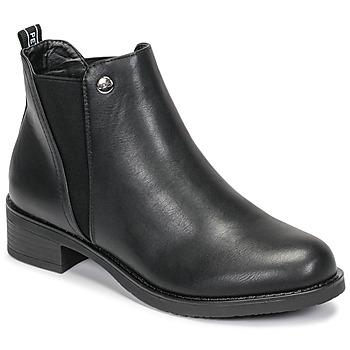 Schuhe Damen Boots Les Petites Bombes AKINA Schwarz