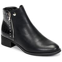 Schuhe Damen Boots Les Petites Bombes ALINE Schwarz