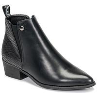 Schuhe Damen Boots Les Petites Bombes ANTONELLA Schwarz