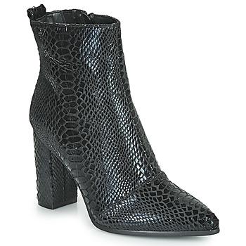 Schuhe Damen Low Boots Les Petites Bombes YGRITTE Schwarz