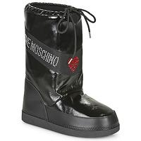 Schuhe Damen Schneestiefel Love Moschino JA24022G1B Schwarz