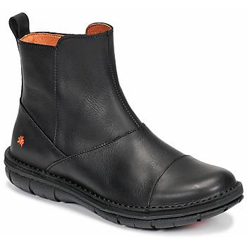 Schuhe Damen Boots Art MISANO Schwarz