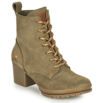 Schuhe Damen Low Boots Art CAMDEN Kaki