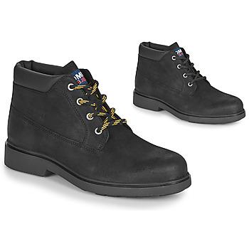 Schuhe Herren Boots Tommy Jeans LOW CUT TOMMY JEANS BOOT Schwarz