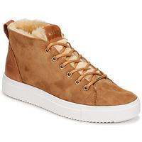 Schuhe Damen Sneaker High Blackstone  Braun