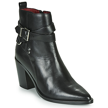 Schuhe Damen Low Boots Bronx NEW AMERICANA LOW Schwarz