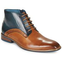 Schuhe Herren Boots Kdopa HARRIS Cognac / Blau