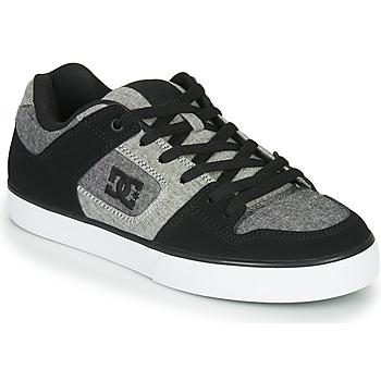 Schuhe Herren Sneaker Low DC Shoes PURE Schwarz / Grau
