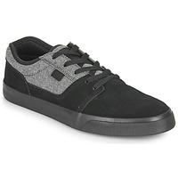 Schuhe Herren Sneaker Low DC Shoes TONIK SE Schwarz / Grau