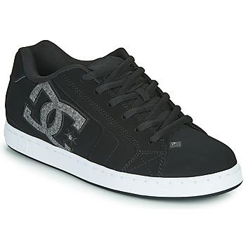 Schuhe Herren Sneaker Low DC Shoes NET Schwarz / Grau