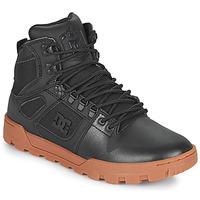 Schuhe Herren Sneaker High DC Shoes PURE HIGH TOP WR BOOT Schwarz