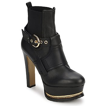 Schuhe Damen Low Boots Moschino MA2105