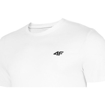 Kleidung Herren T-Shirts 4F TSM003 Weiß