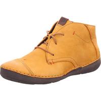 Schuhe Damen Boots Josef Seibel FERGEY 18-Kn.Schnürer safrangelb