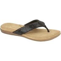 Schuhe Damen Zehensandalen Cipriata  Schwarz