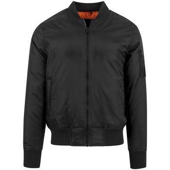 Kleidung Herren Jacken Build Your Brand BY030 Schwarz