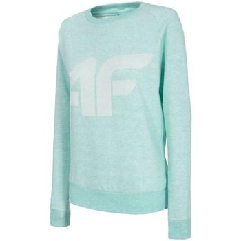 Kleidung Damen Sweatshirts 4F BLD001 Türkisfarbig