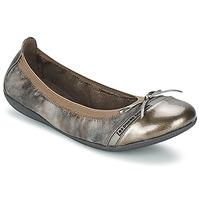 Schuhe Damen Ballerinas Les P'tites Bombes CAPRICE METAL Grau