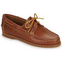 Schuhe Herren Bootsschuhe Casual Attitude REVORO Braun