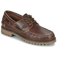 Schuhe Herren Bootsschuhe Casual Attitude EVEROA Braun